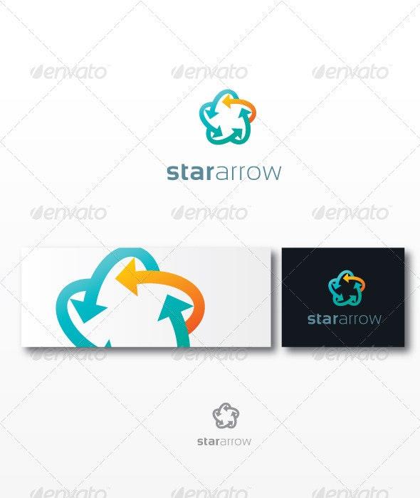 StarArrow - Crests Logo Templates