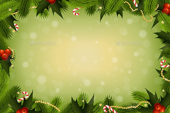 Christmas Card Background.Christmas Card Background