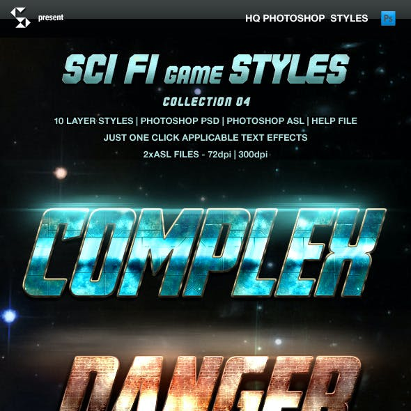 Sci-fi Game Styles - Collection 4