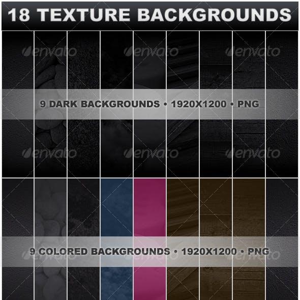 18 Texture Backgrounds