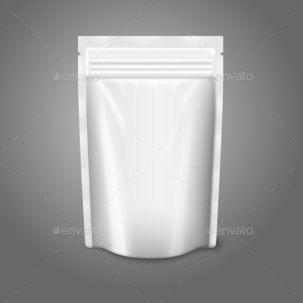 Blank Plastic Pouch