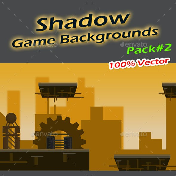 Shadow Game Backgrounds Pack-2