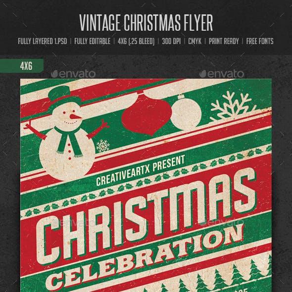 Vintage Christmas Flyer