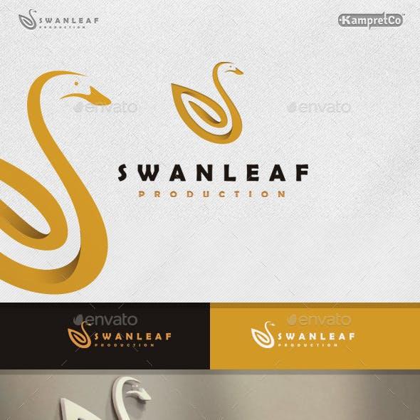 Swan Leaf Logo