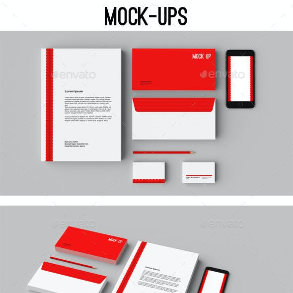 Stationery Mock-ups / Corporate ID