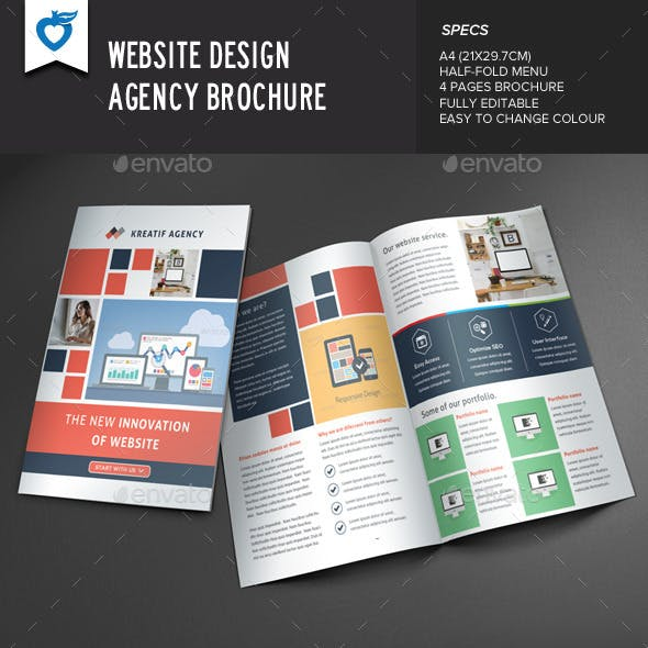 Website Design Agency Brochure