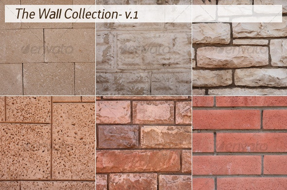 The Wall Collection - v.1 - Stone Textures