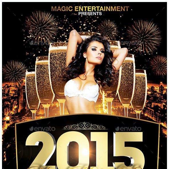 2015 New Years Eve Flyer