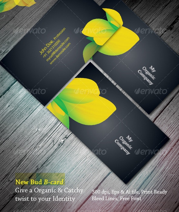 New Bud B-Card - Creative Business Cards