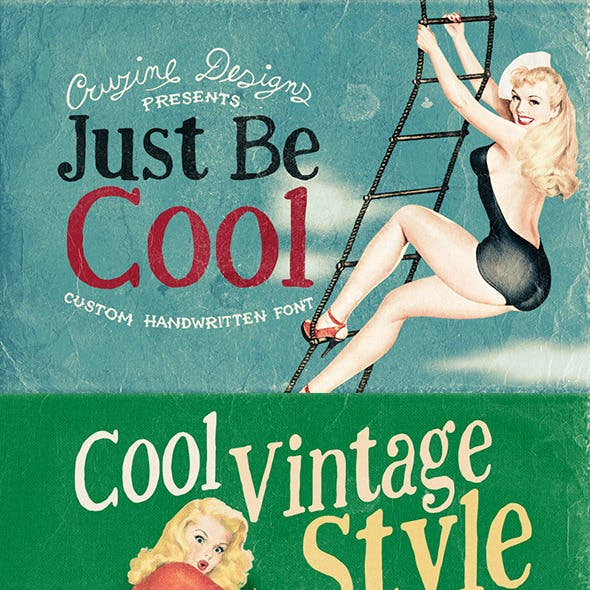 Just Be Cool Custom Font