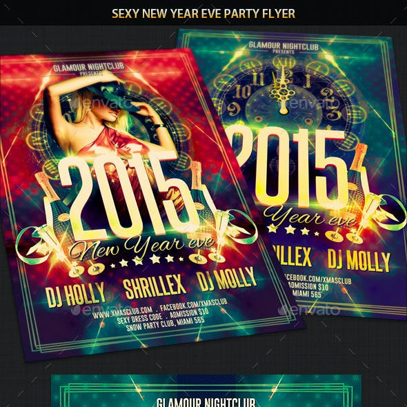 Sexy New Year Eve Party Flyer