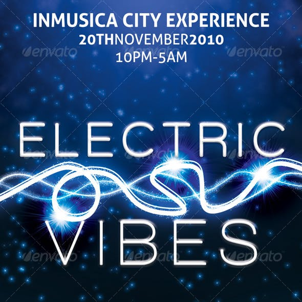 Electric Vibes Music Flyer
