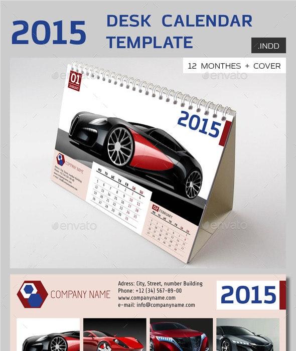 2015 Desk Calendar vol.1 - Calendars Stationery