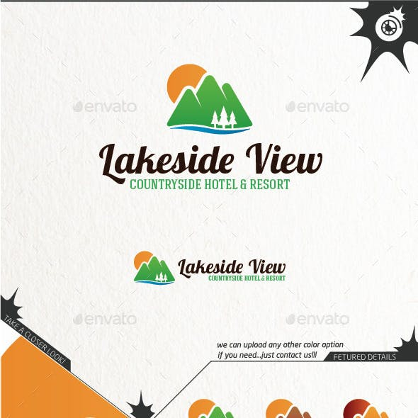 Lakeside View Logo