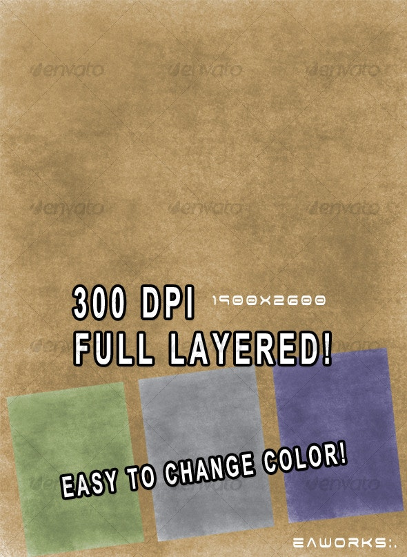 Grunge Paper Texture - Paper Textures