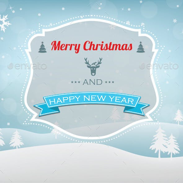 Christmas & New Year Background