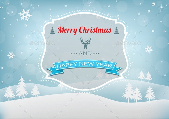 Christmas & New Year Background - Christmas Seasons/Holidays