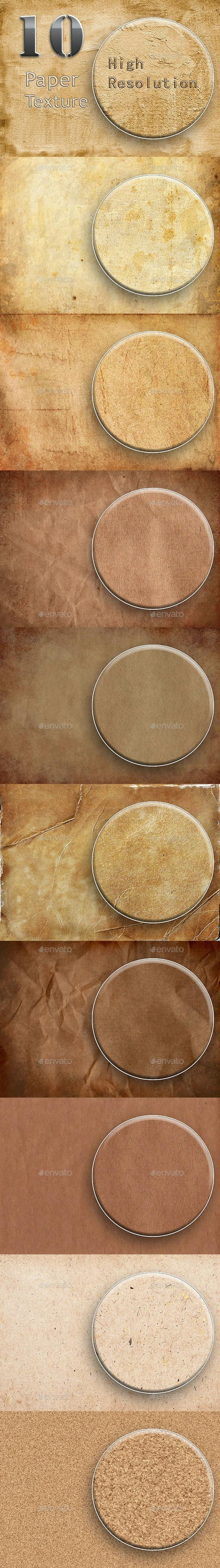 10 Paper Texture Part 1