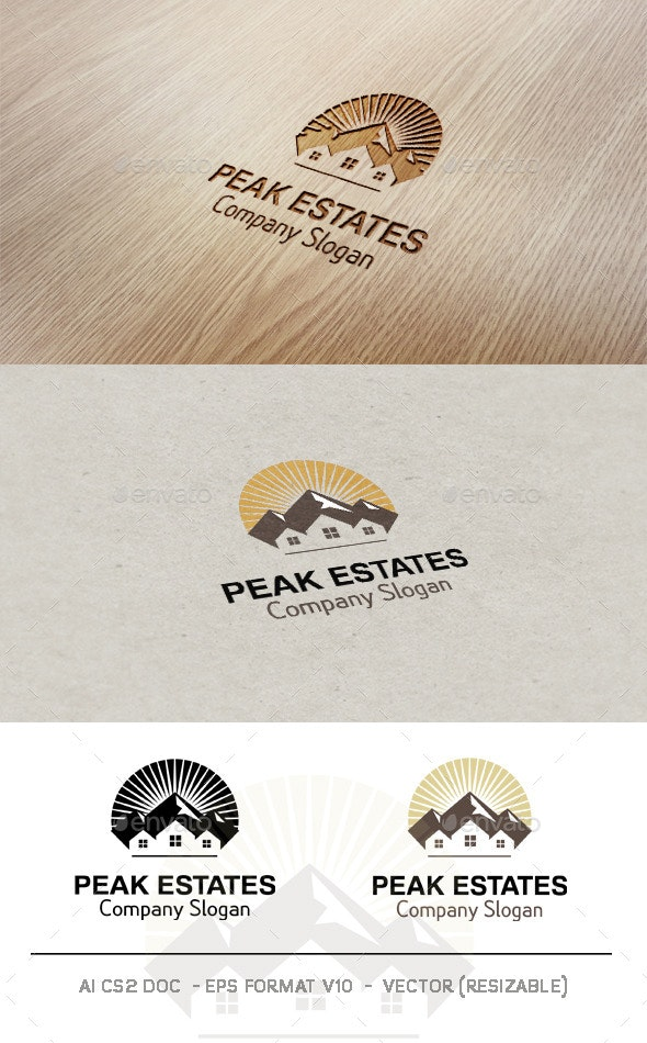 Peak Estates Logo