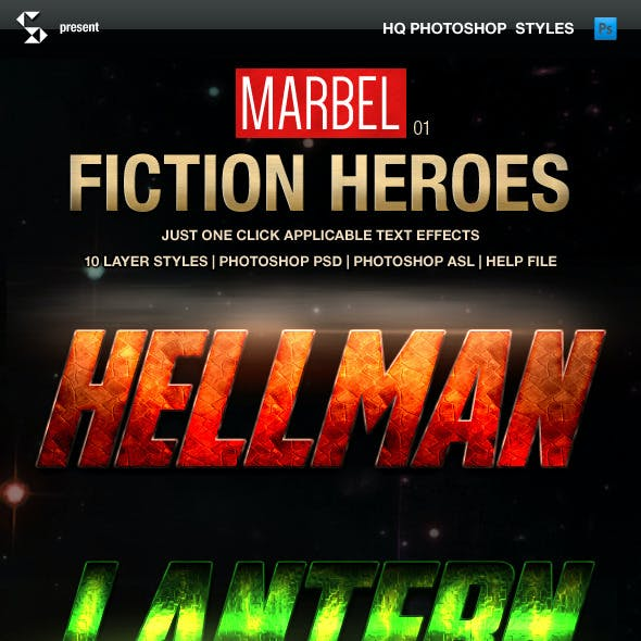 Blockbuster Heroes Style Text Effects 01