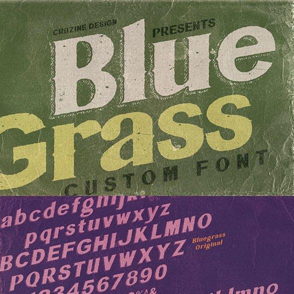 Bluegrass Custom Font