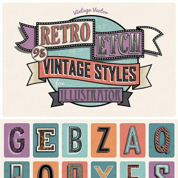 Retro Etch - Vintage Styles