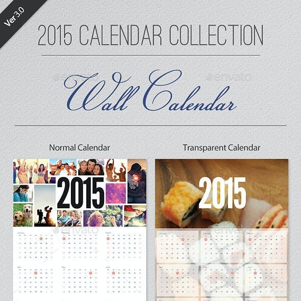 2015 Calendar Collection - Wall Calendar