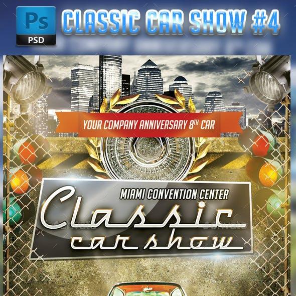Classic Car Show Flyer #4
