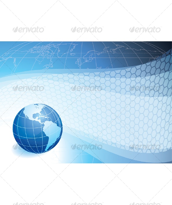 Globe - Backgrounds Business