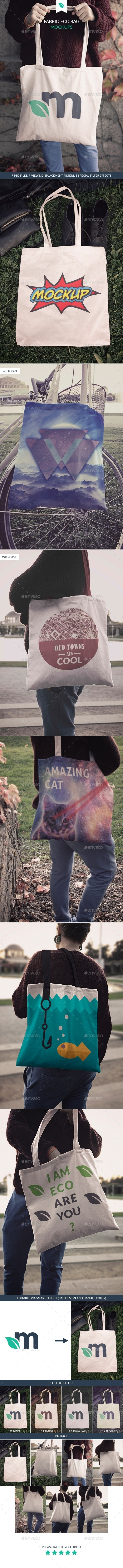 Tote Bag Mockups - Miscellaneous Apparel