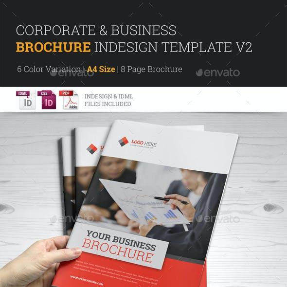 Corporate Multipurpose Brochure InDesign Template v2