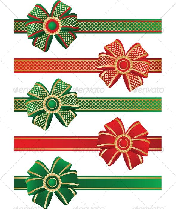 Bows - Decorative Symbols Decorative