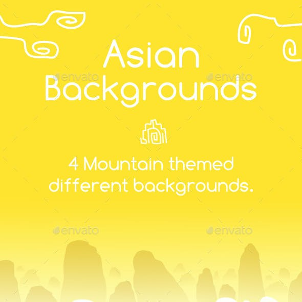 Asian Backgrouds