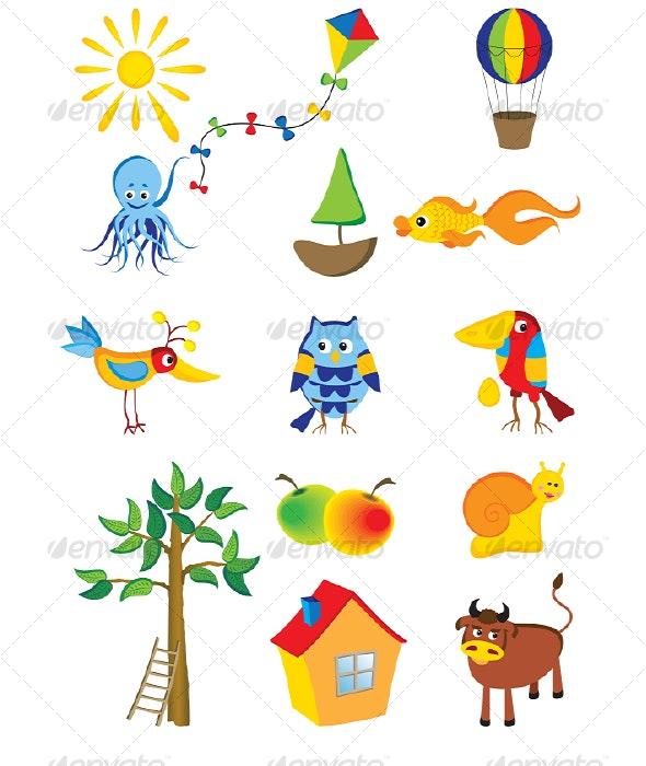 Cartoons - Characters Vectors