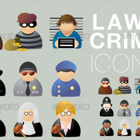 Law & Crime icons