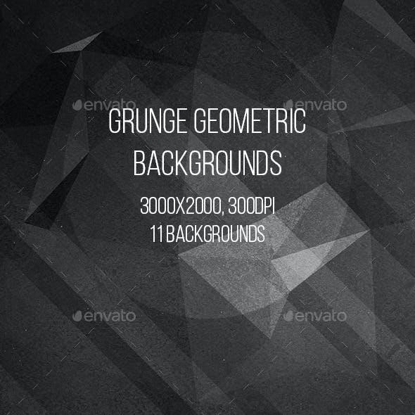 Grunge Geometric Backgrounds