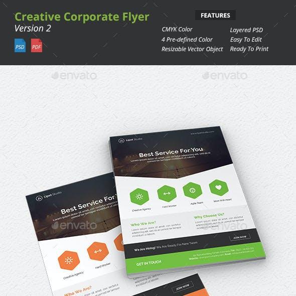 Creative Corporate Flyer v2