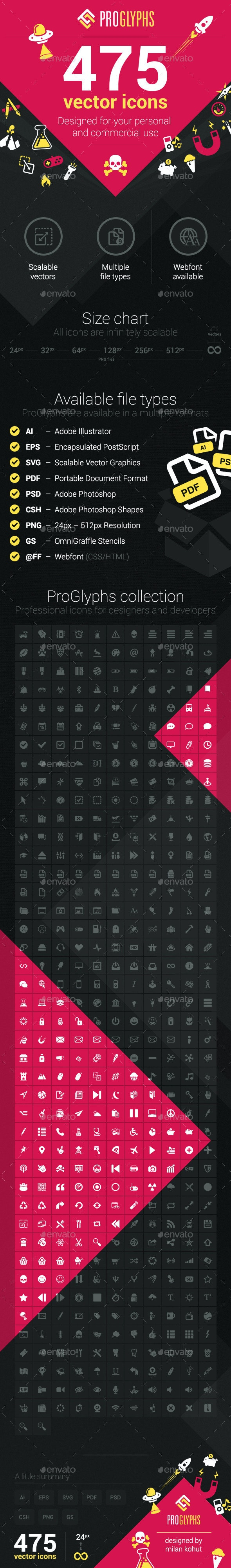 475 Vector Icons - Icons