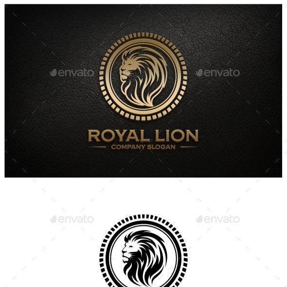 Royal Lion Logo Template