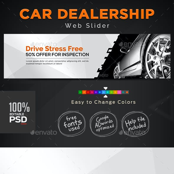 Car Dealership Slider