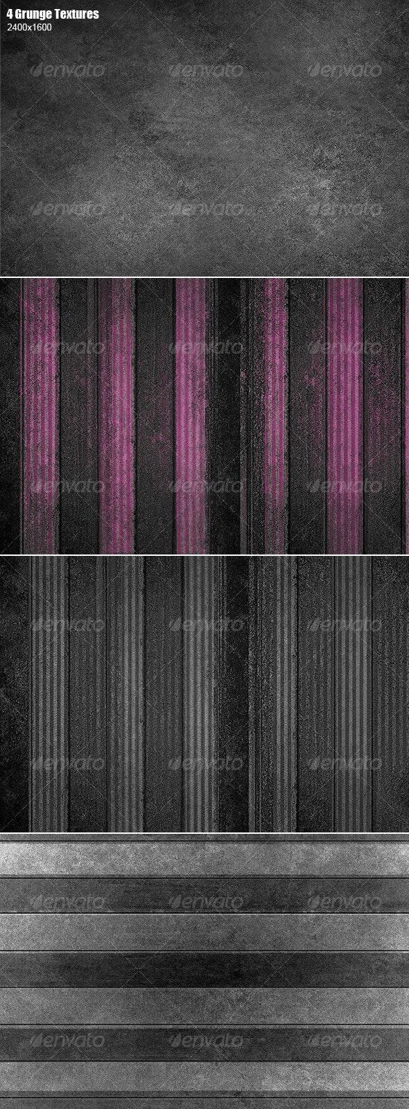2 Grunge Textures - Industrial / Grunge Textures