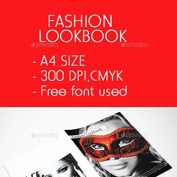 Multipurpose/Fashion Lookbook/Booklet