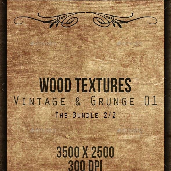 Wood Textures Bundle - Vintage & Grunge 02