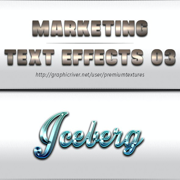 Marketing Text Effects 03