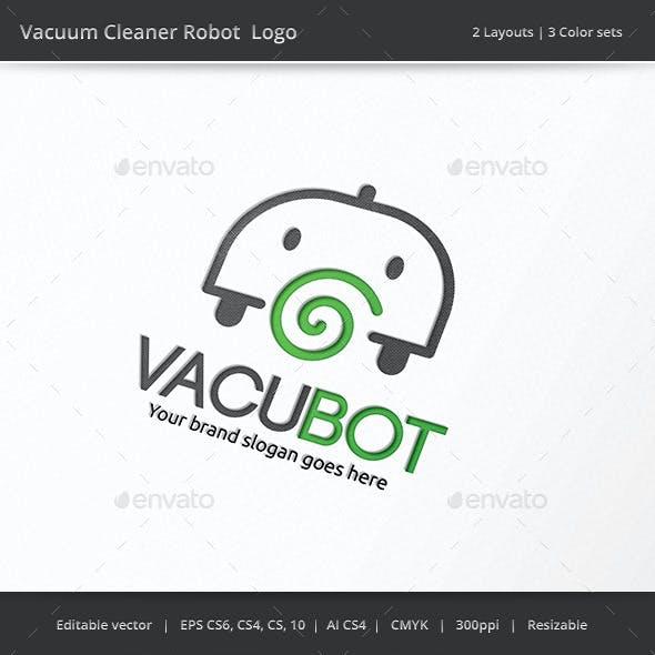 Vacuum Cleaner Robot Logo