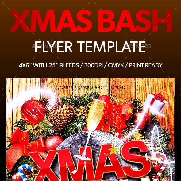 Xmas Bash Flyer Template