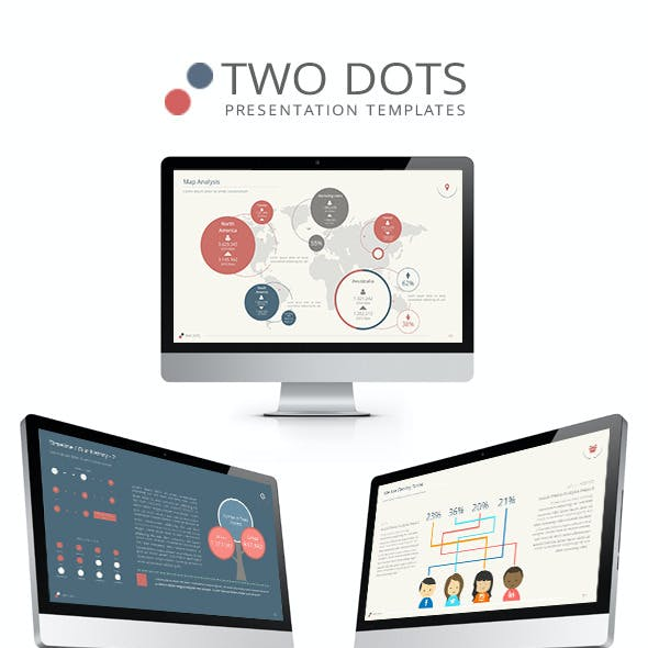 Two Dots PowerPoint Presentation Templates