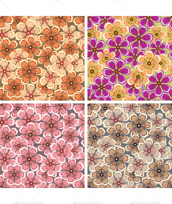 Flower pattern - Flowers & Plants Nature