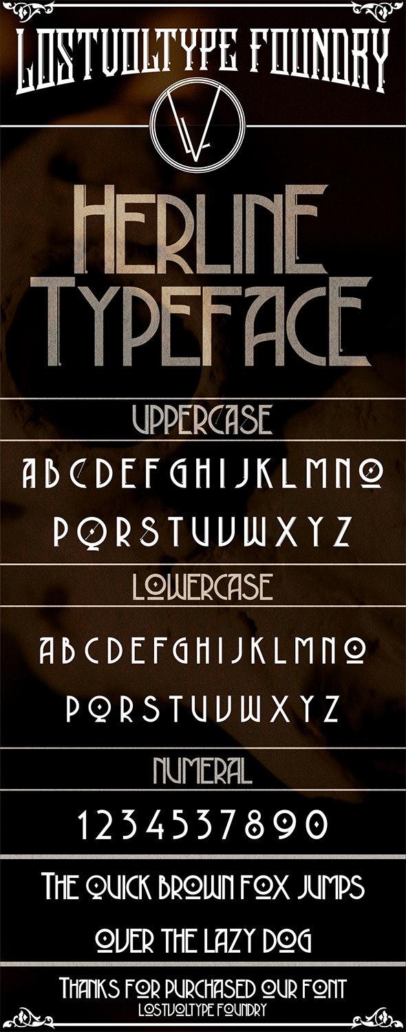 Herline Typeface - Miscellaneous Script