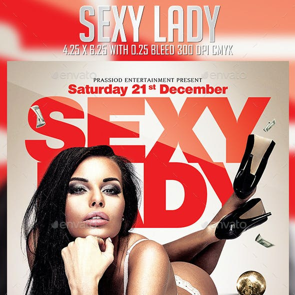Sexy Lady Flyer Template